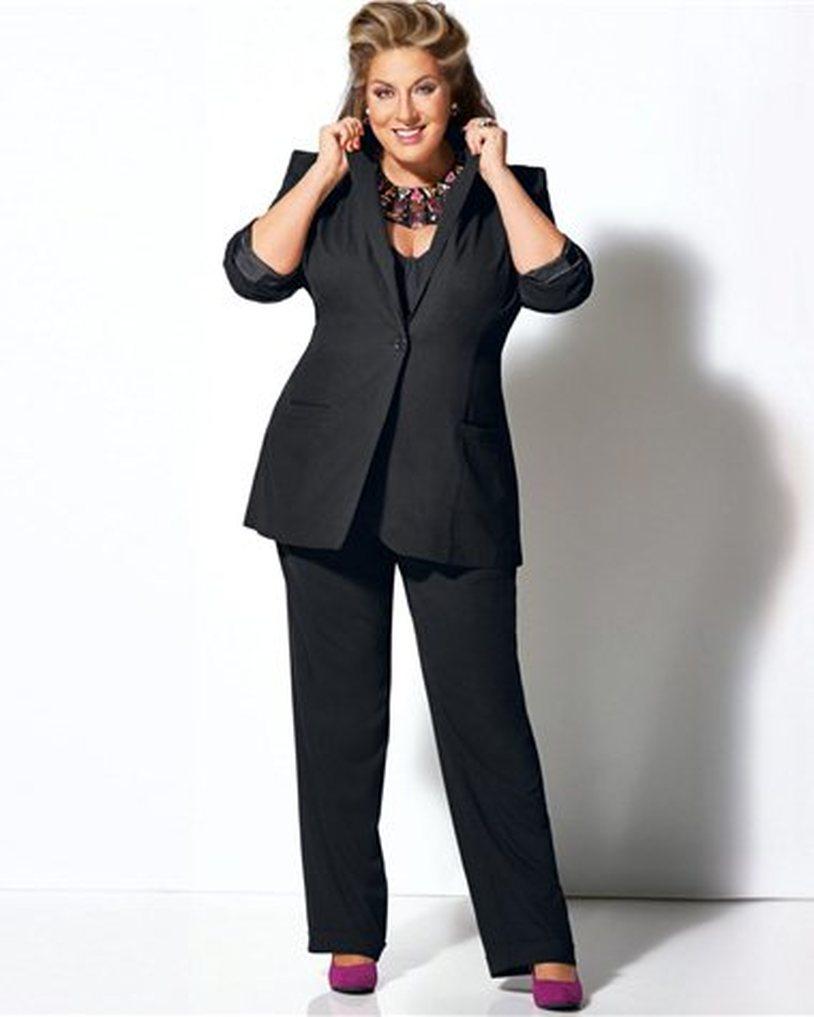 Souvent Tailleur pantalon femme grande taille - Prêt à porter féminin et  LJ15