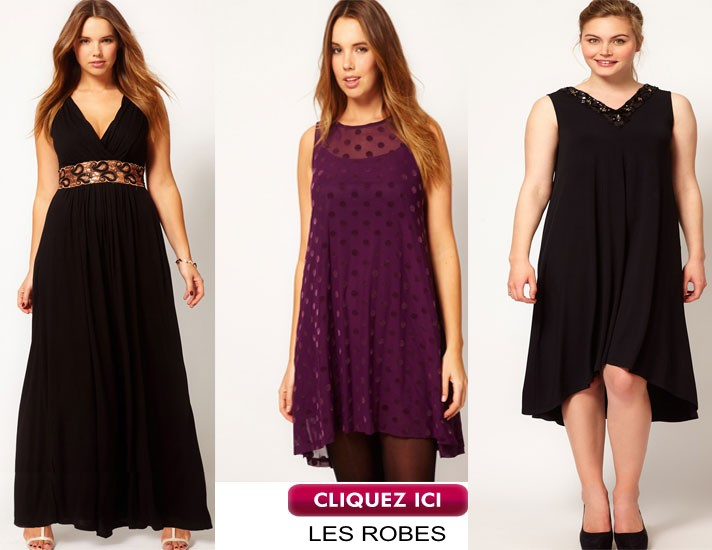 Robes chic femme ronde