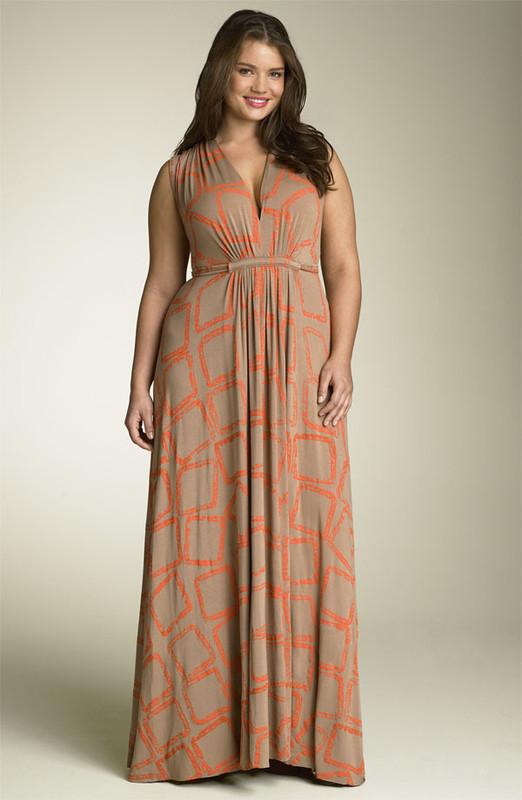 Robe longue pour femme ronde pr t porter f minin et masculin - Pret a porter femme ronde ...