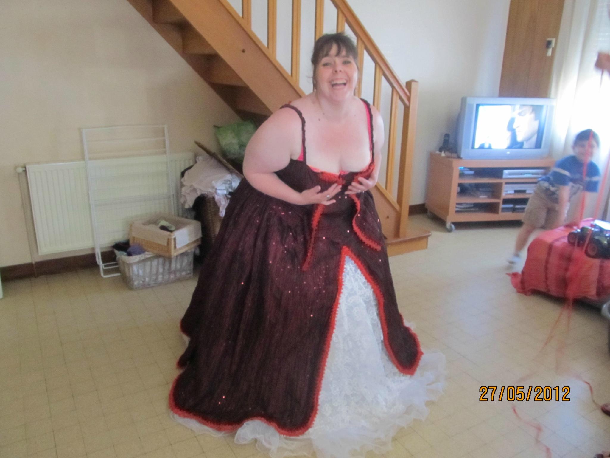 Patron couture robe de soiree grande taille