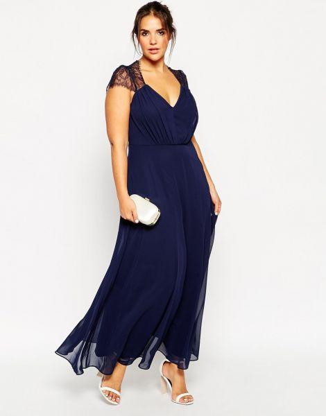 Robe de cocktail pour mariage femme ronde