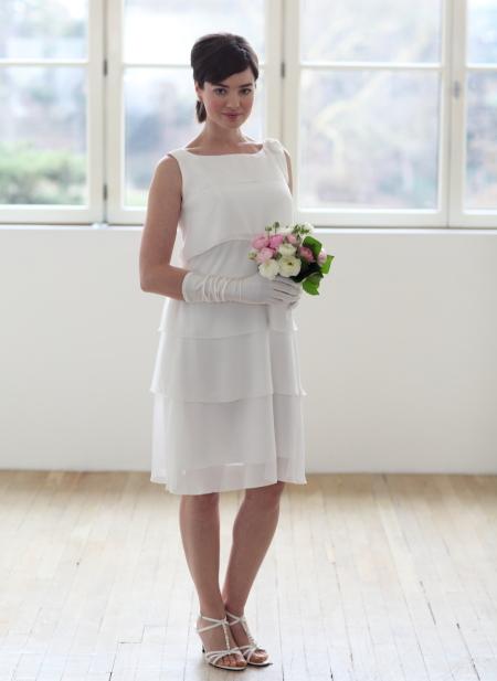 Robe de ceremonie mariage femme 50 ans