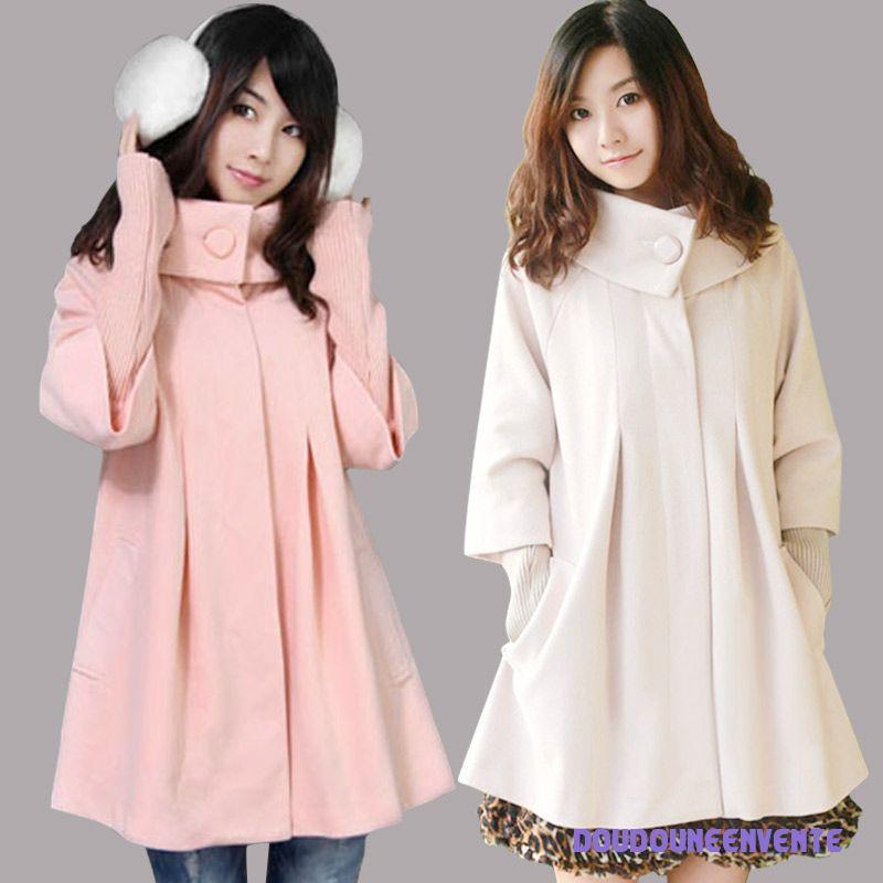 Manteau femme hiver grande taille pr t porter f minin et masculin - Taille des rosiers automne ...