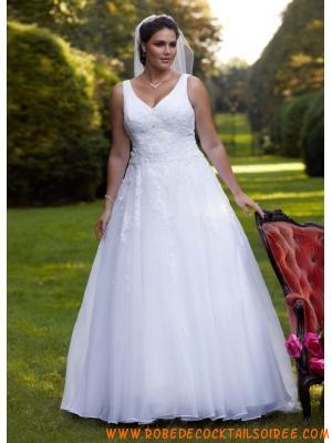 Robe de mariée pas cher grande taille