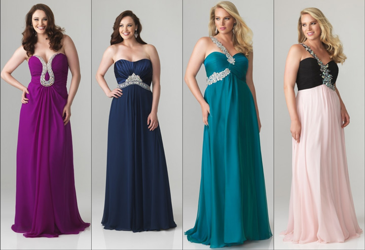 Populaire Robe de soirée pour mariage femme ronde - Prêt à porter féminin et  BL96