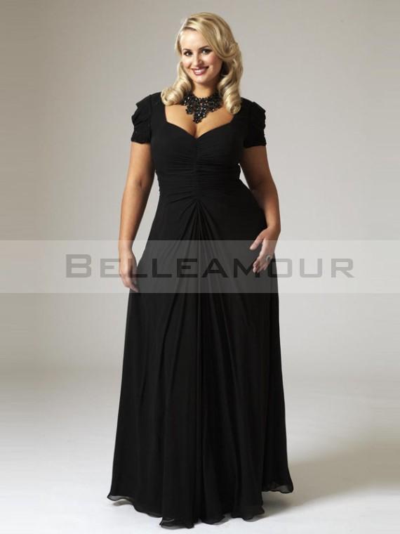 Robe noire habillee grande taille