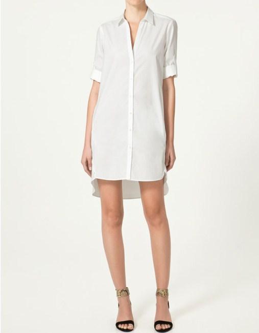 Souvent Chemise femme longue blanche - Prêt à porter féminin et masculin FT43