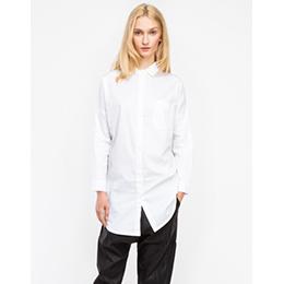 longue chemise blanche femme pr t porter f minin et masculin. Black Bedroom Furniture Sets. Home Design Ideas