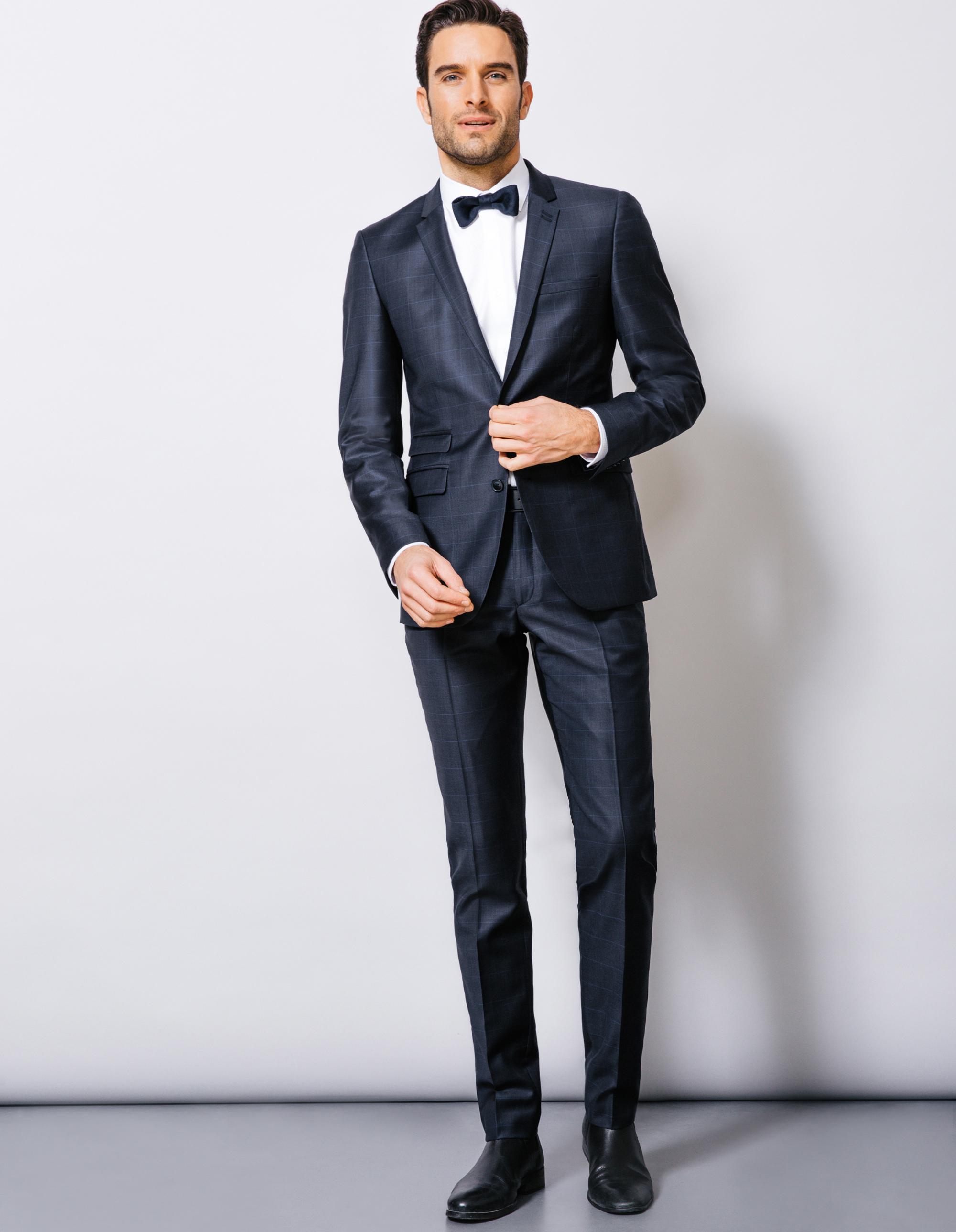Costume homme carreaux pr t porter f minin et masculin - Costume homme pret a porter ...