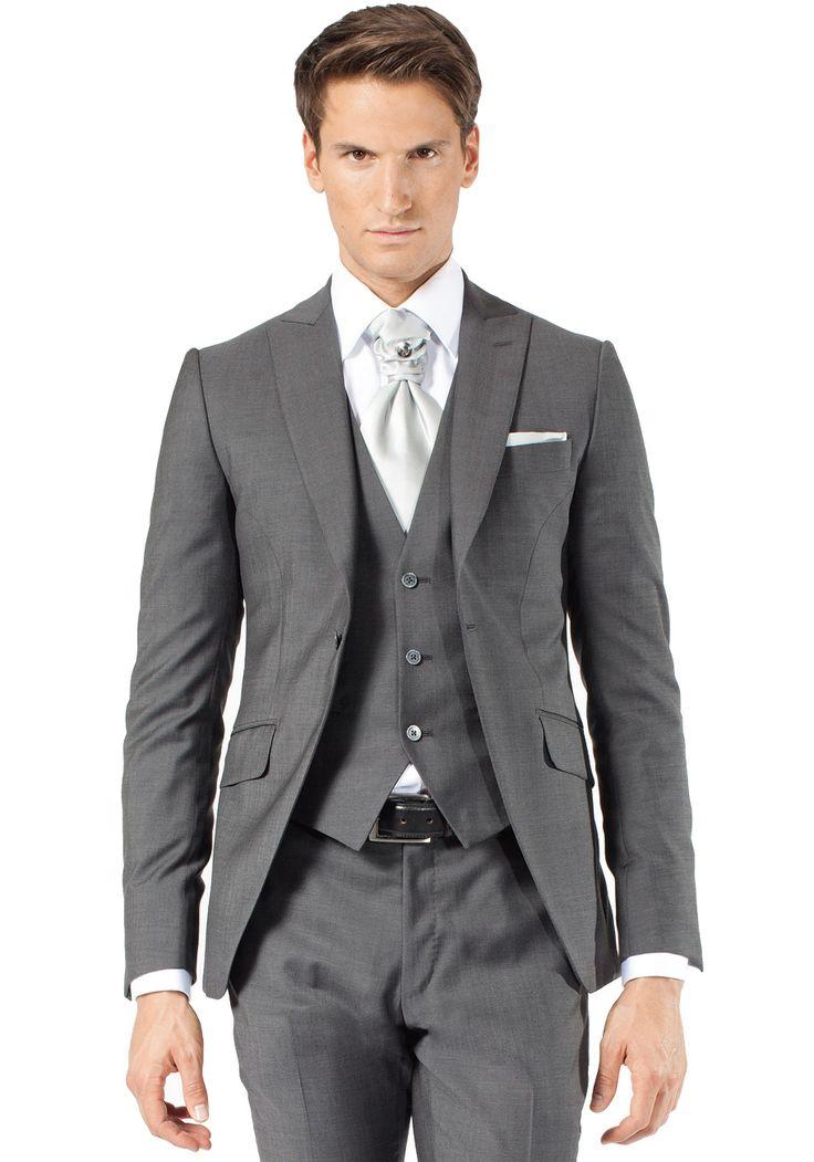 Costume homme mariage gris pr t porter f minin et masculin - Costume homme pret a porter ...