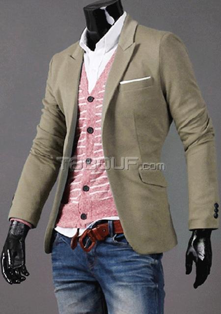 Veste costume fashion homme pas cher