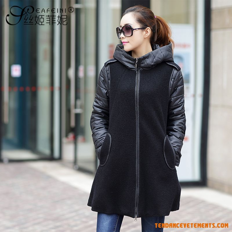 manteau femme grande taille original pr t porter. Black Bedroom Furniture Sets. Home Design Ideas