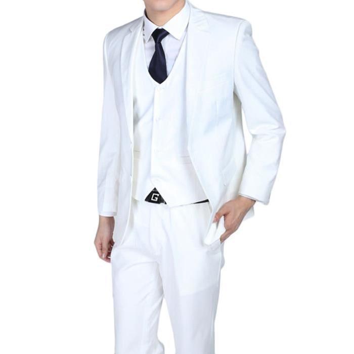 costume homme blanc et rouge pr t porter f minin et masculin. Black Bedroom Furniture Sets. Home Design Ideas