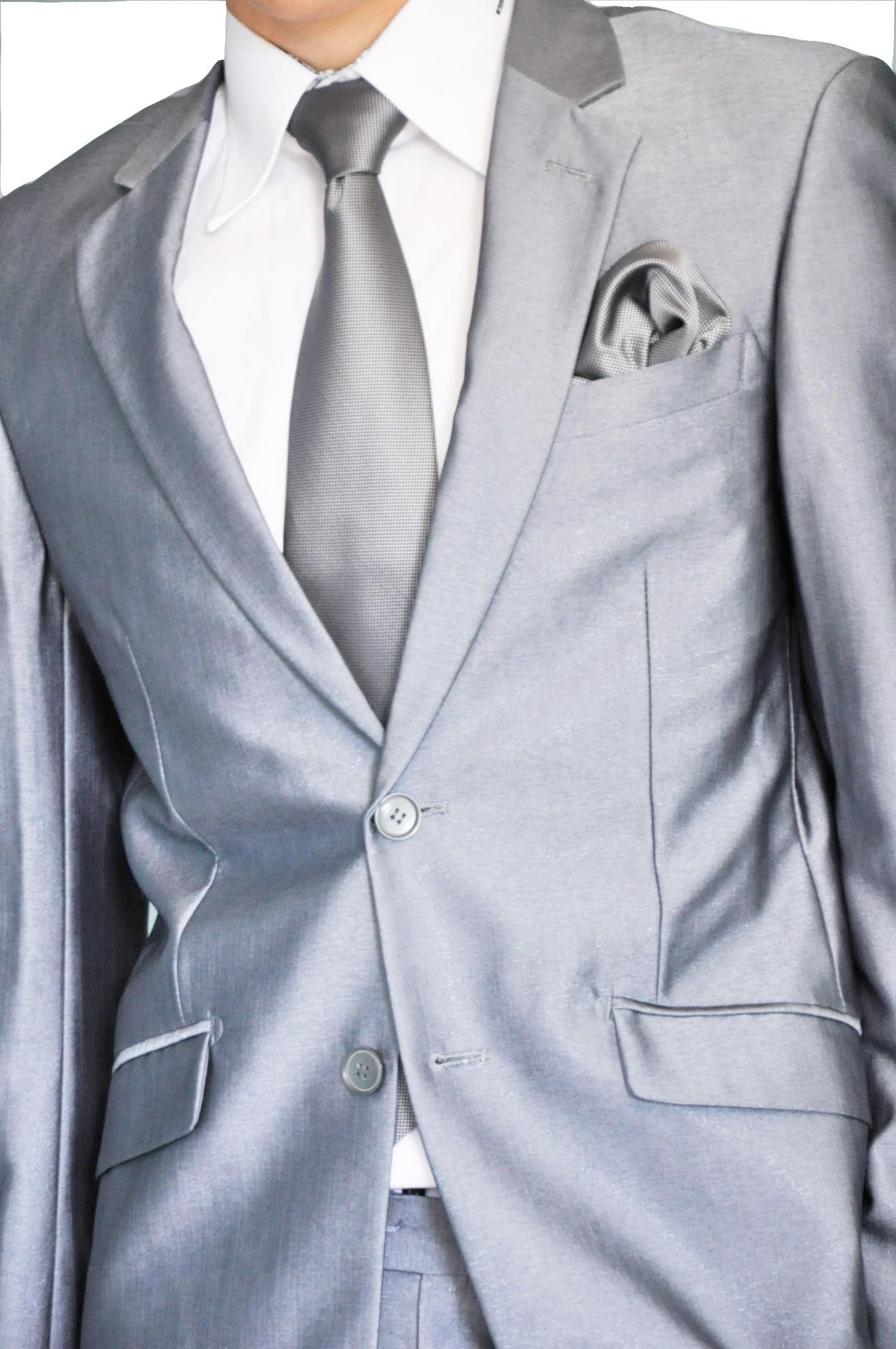 Costume homme gris brillant pr t porter f minin et masculin - Costume homme pret a porter ...