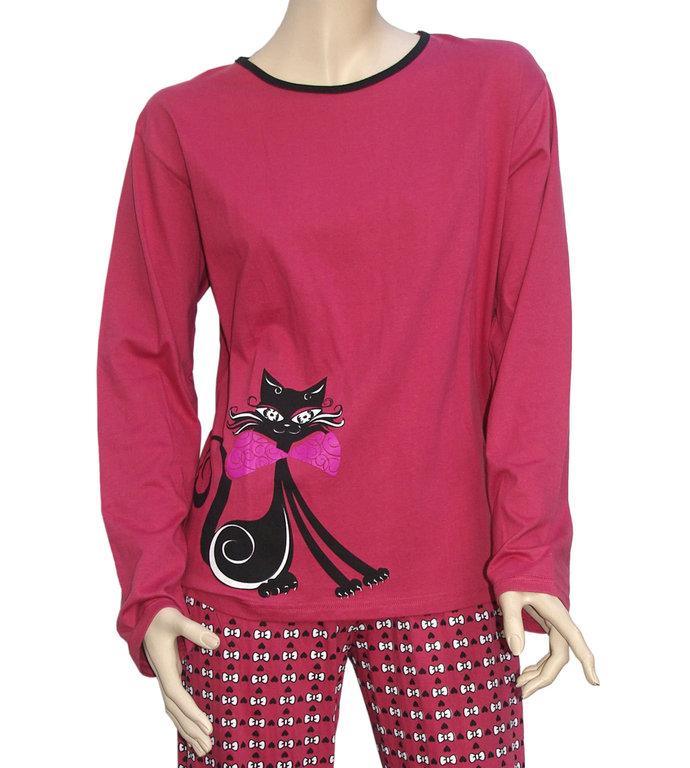 pyjama en coton femme pr t porter f minin et masculin. Black Bedroom Furniture Sets. Home Design Ideas