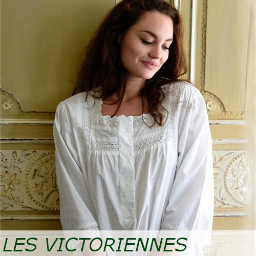 chemise de nuit romantique victorienne pr t porter f minin et masculin. Black Bedroom Furniture Sets. Home Design Ideas