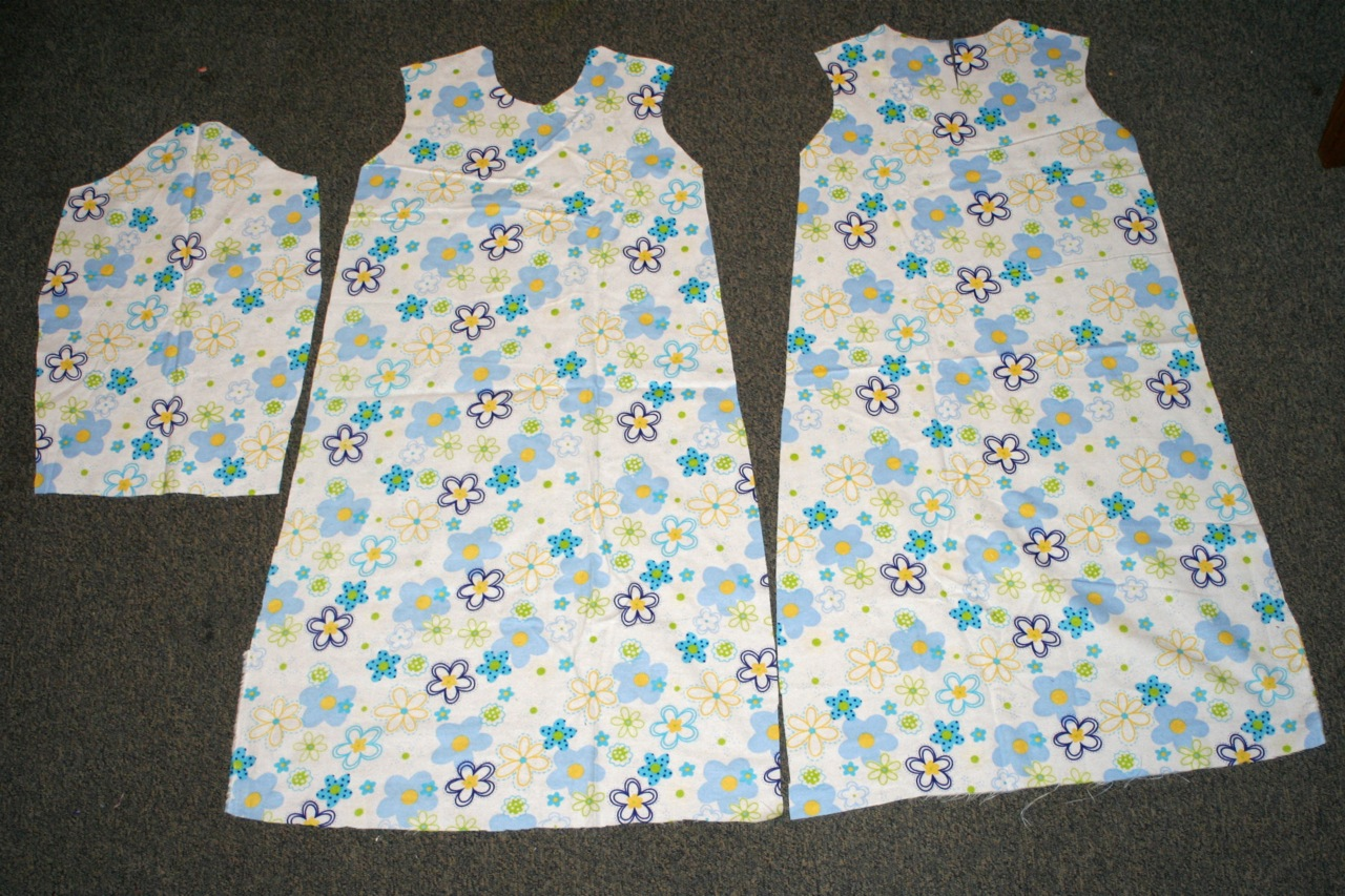 Patron chemise de nuit 5 ans pr t porter f minin et masculin - Patron gratuit robe de chambre femme ...