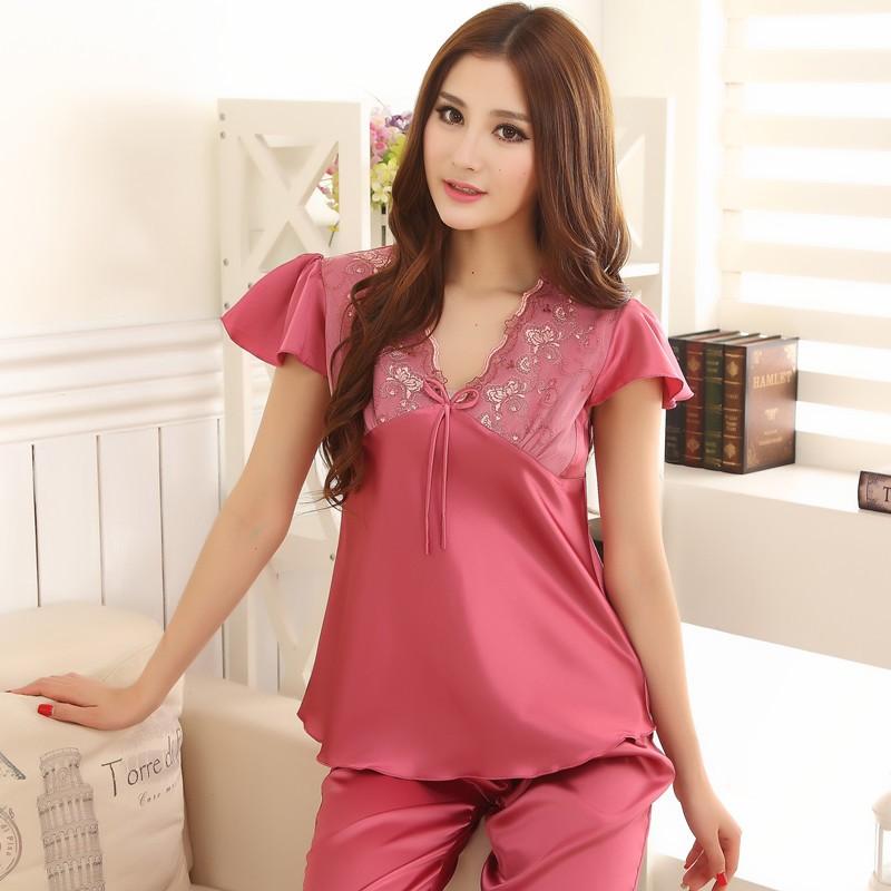 pyjama deux pi ces femme pr t porter f minin et masculin. Black Bedroom Furniture Sets. Home Design Ideas